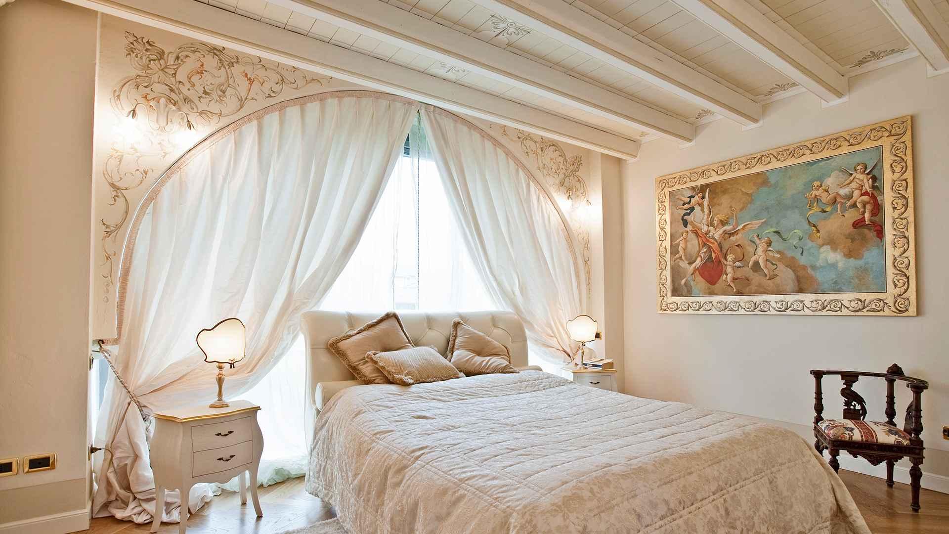 Mariani affreschi mariani affreschi frescos trompe l - Camere da letto romantiche ...