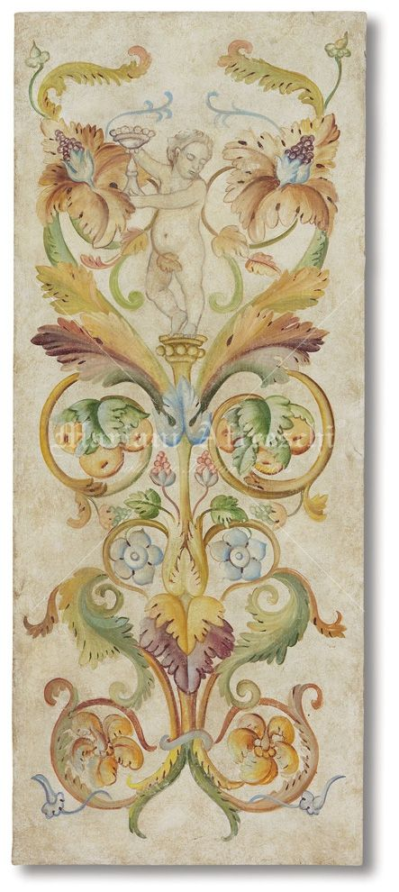 Mariani affreschi grotesque and decorative paintings - Decorazioni grottesche ...