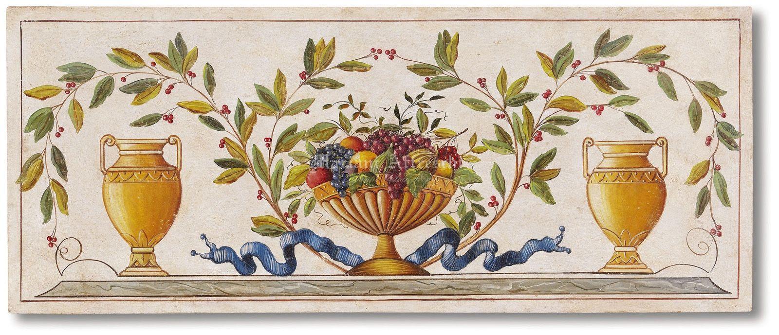 Mariani affreschi fregi grottesche e decorativi for Fregi decorativi