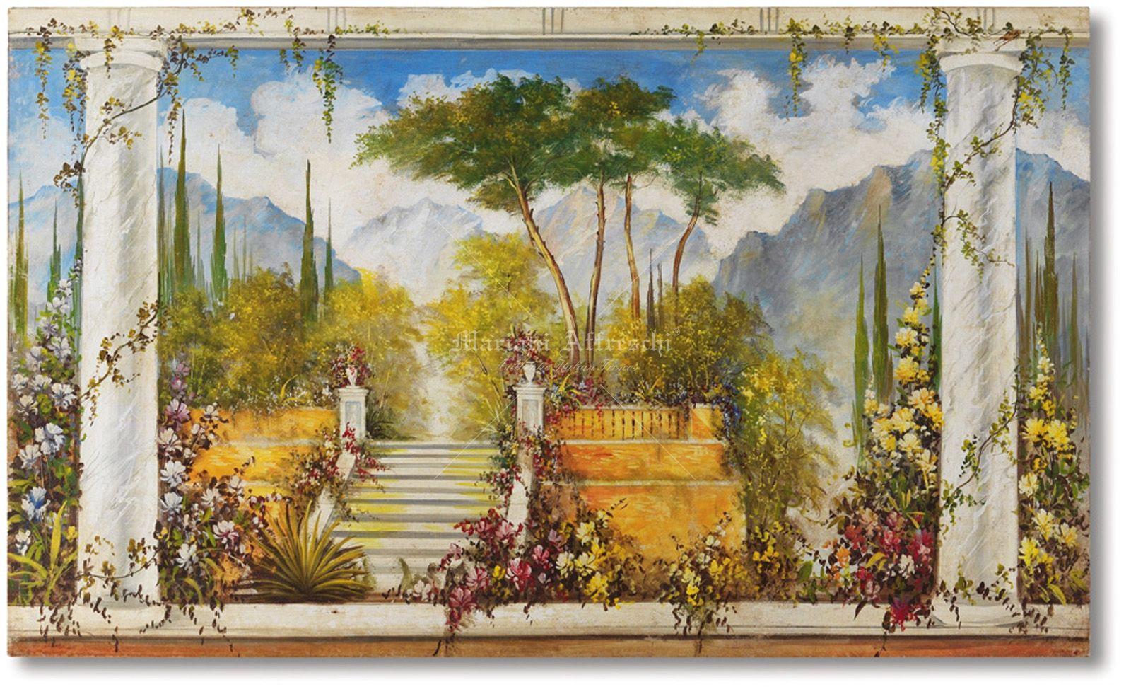 mariani affreschi landscapes and trompe l oeil. Black Bedroom Furniture Sets. Home Design Ideas