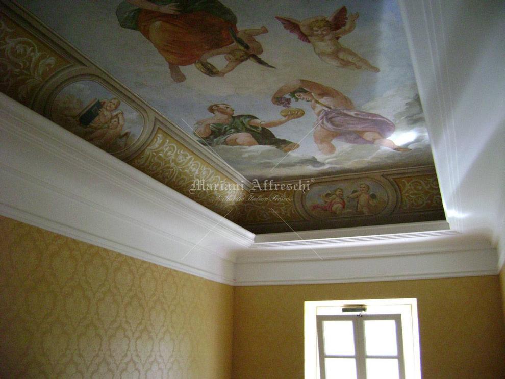 Soffitti A Volta In Cartongesso : Mariani affreschi portfolio