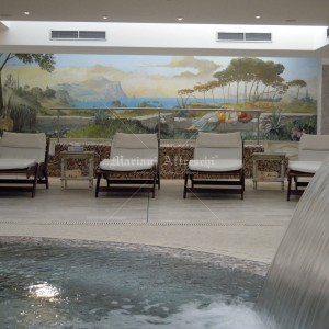 Fresco for the Marisa Borghi spa